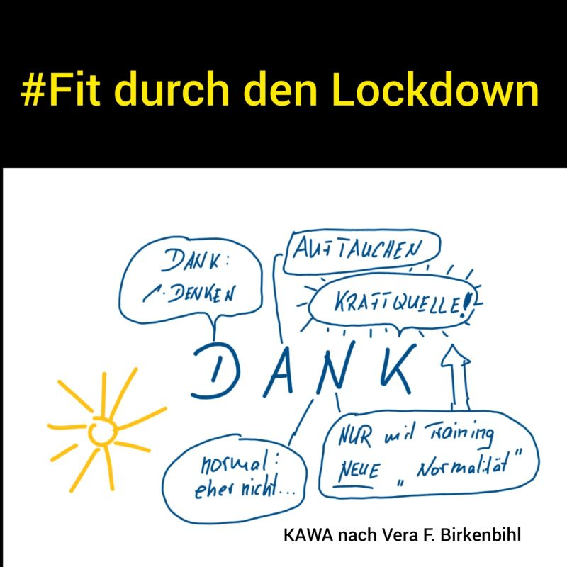 FIT DURCH DEN LOCKDOWN