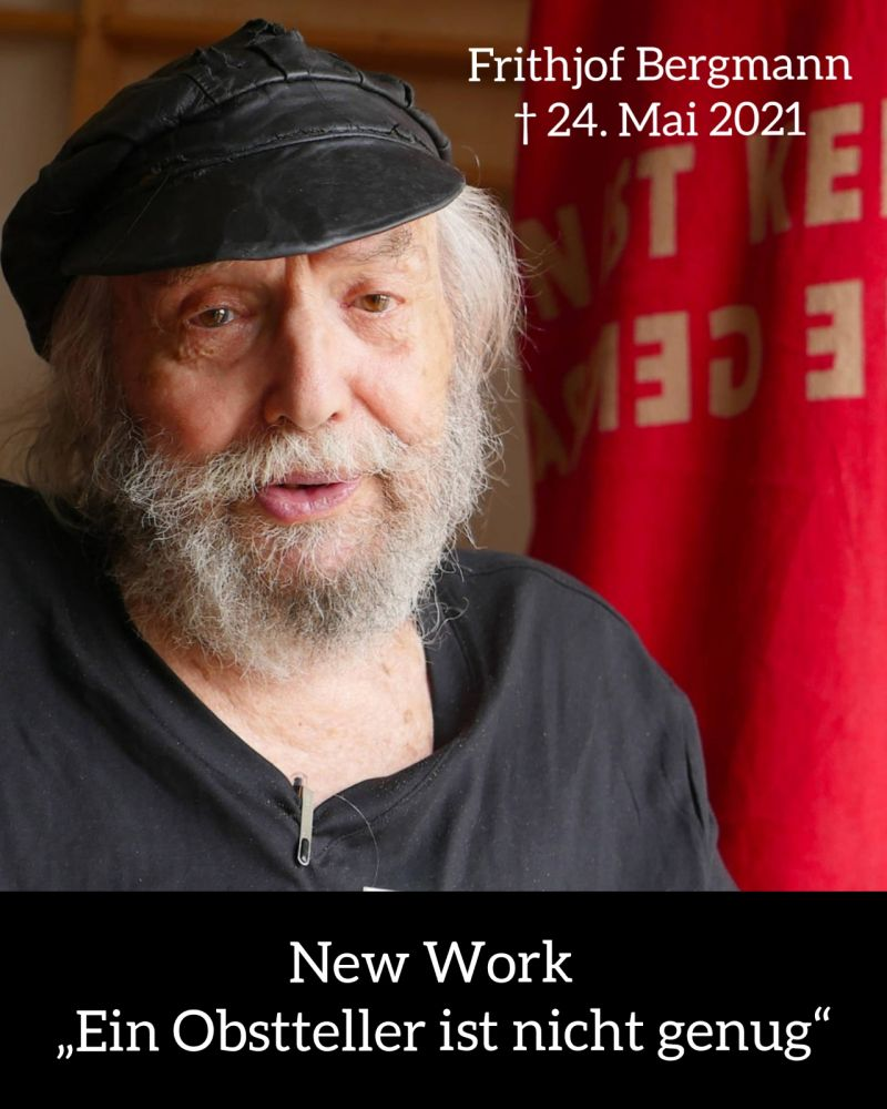 NEW WORK: EIN OBSTTELLER IST NICHT GENUG